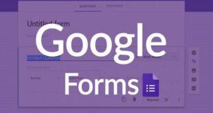 cách dùng google form